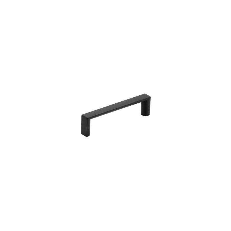 Furnware Dorset Dallas Collection Matt Black 96mm Square D Pull Handle Dst Fdh96 Mbl